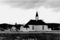 Den gamle kirka i Karasjok, i 1807