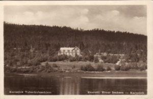 Gammel bilde av Karasjok Syke og tuberkulosehjem
