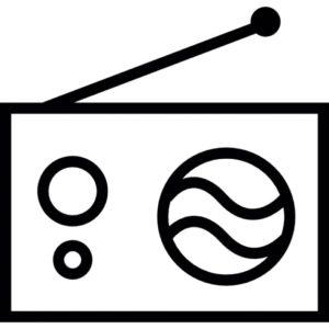Radio symbol bilde