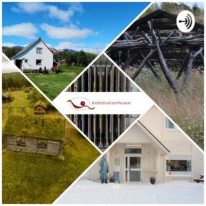 bilder av 4 RDM museer og kunstnagasinet og logo