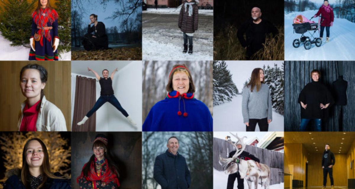 Torgrim Hermansen Halvari: 100 samiske portretter