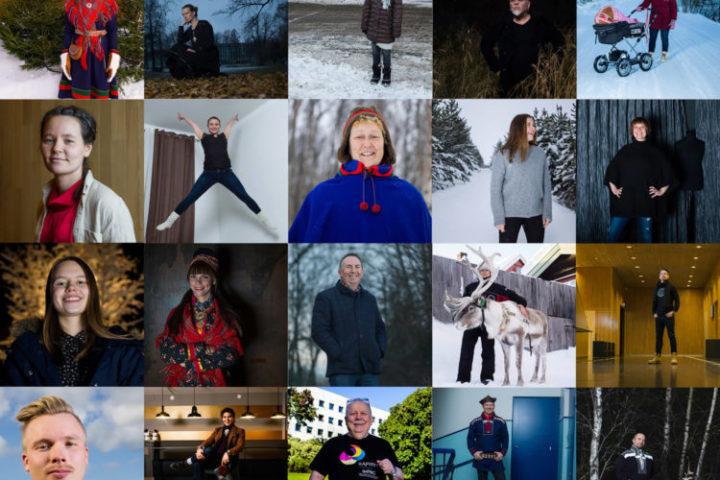 Torgrim Hermansen Halvari: 100 Sami Portraits
