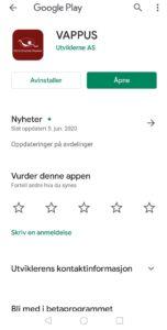 VAPPUS på Google Play.