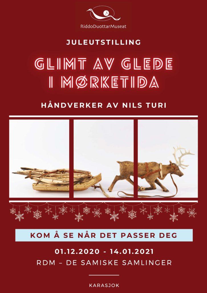 Plakat for juleutstilling